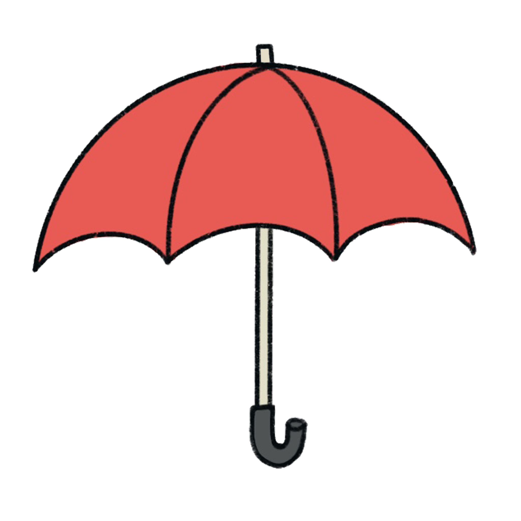 Holly Papa Logo Umbrella Icon Transparent